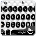Simple Business Black White Keyboard Theme