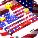 American Flag Emoji Keyboard