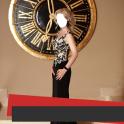 Women Long Dress Photo Montage