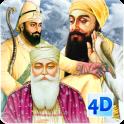 10 Sikh Gurus Live Wallpaper