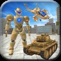 US Army Transform Robot War