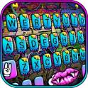 Party Graffiti Keyboard Theme
