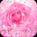 Diamond Pink Rose Theme
