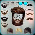Men beard photo editor Mustache : Hairstyle salon
