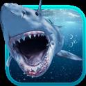 Shark Attack Animated Keyboard + Live Wallpaper