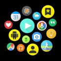 Bubble Cloud Widgets + Folders for phones/tablets