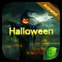 Halloween GO Keyboard Animated Theme