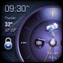 Analog Clock on Lockscreen