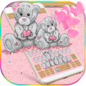 Cute Teddy Bear Keyboard Theme