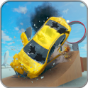 Simulador de accidentes de coches: Beam Crash Driv
