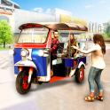 Tuk Tuk Rickshaw Shopping Mall Driver
