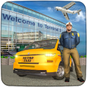 City Traffic Taxi Car Driving: Airport Taxi Games