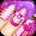 Cute Nail Art Designs Game 3D