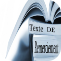TEXTE DE REMERCIEMENT
