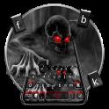 Zombie Monster Skull Keyboard Theme
