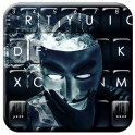 Anonymous Smoke Keyboard Theme