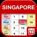Singapore Calendar 2019 - 2021