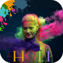 Holi Photo Frame