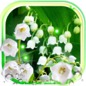 Forest Lilies Live wallpaper