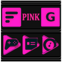 Pink and Black Icon Pack ✨Free✨