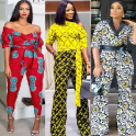 Ankara Jumpsuit Fashion Styles