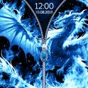 Dragon Zipper Screen Locker