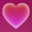 Corações fundo dinâmica