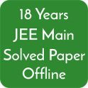 18 Years Jee Main Solved Papers Offline