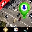 Live Satellite Maps Transit & GPS Voice Navigation
