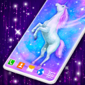 Cute Unicorn Live Wallpaper Background Changer