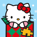 Hello Kitty Christmas Puzzles - Games for Kids