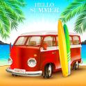 Car Simulator Miami Beach Summer Party