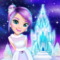 Ice Princess Castle Decoration