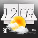 HTC Sense Style Weather Widget