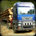Wood Cargo Euro Truck Transporter : Truck Driving