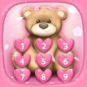 Cute Pink Lock Screen