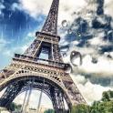 Rainy Paris Live Wallpaper