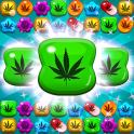Crush Weed Match 3 Candy Jewel - cool puzzle games