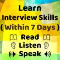 English Interview Preparation - Job Interview App