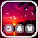 Sunset Launcher Theme