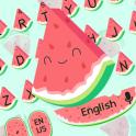 Cute Watermelon keyboard