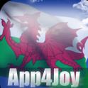 3D Welsh Flag Live Wallpaper