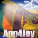 3D Sri Lanka Flag Live Wallpaper
