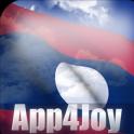 Laos Flag Live Wallpaper