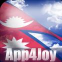 3D Nepal Flag Live Wallpaper