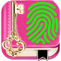 My Personal Diary with Fingerprint