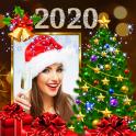 2020 Christmas New Year Greetings Photo Frames