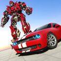 Muscle Car Robot Transformation Game 2018