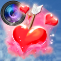 Photo Editor with Love Stickers Pics Decoration