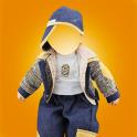 Baby Boy Photo Suit